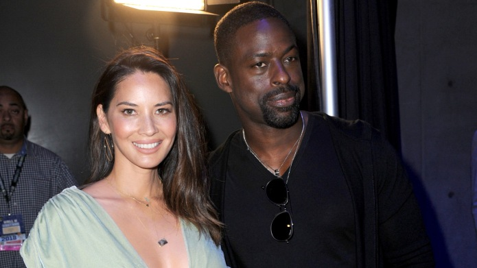 Olivia Munn and Sterling K. Brown