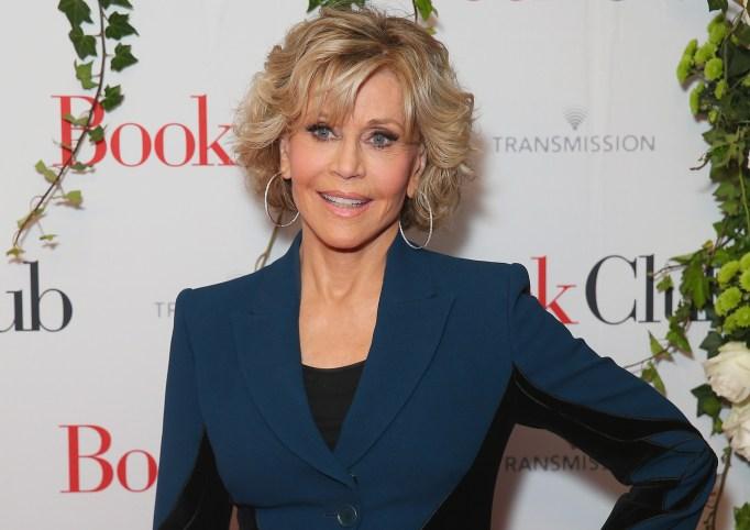 Jane Fonda attends the Australian Premiere of 'Book Club' at Event Cinemas Bondi Junction