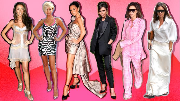 Victoria Beckham's Fashion Evolution From Spice