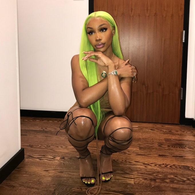 SZA: Slime Green