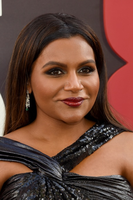 Mindy Kaling attends the 'Ocean's 8' World Premiere at Alice Tully Hall on June 5, 2018