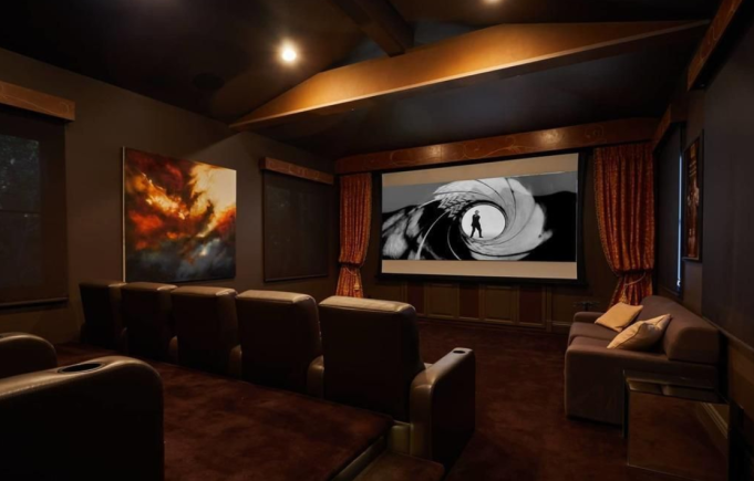 Britney Spears' theatre room