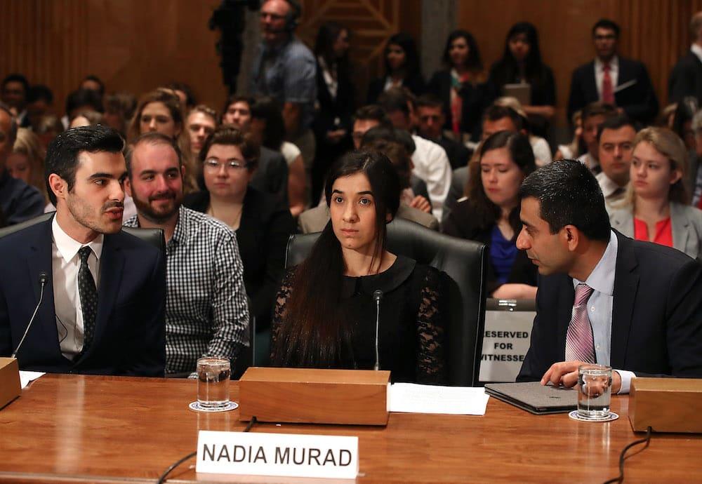 Nadia Murad Senate Homeland Security Committee