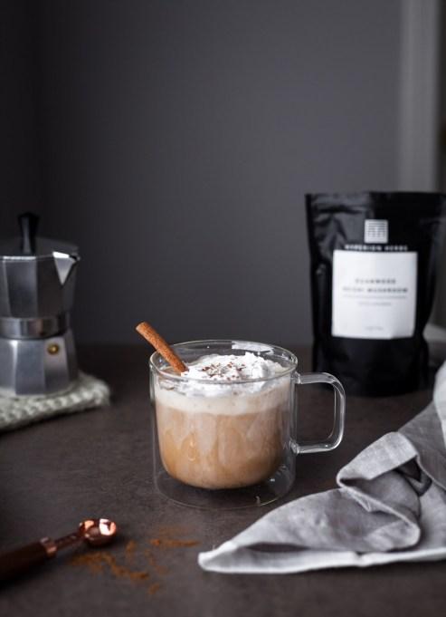 Reishi Pumpkin Spice Latte