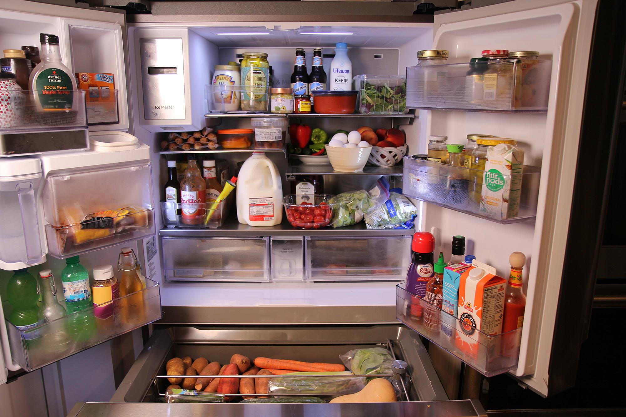 Inside of Laura Vitale's fridge