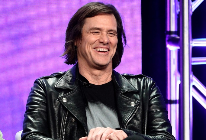 Jim Carrey from 'Kidding' speaks onstage at the Showtime Network portion of the Summer 2018, TCA Press Tour at The Beverly Hilton Hotel