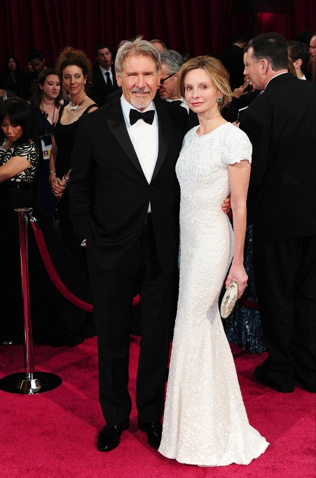 Photo of Harrison Ford and Calista Flockhart