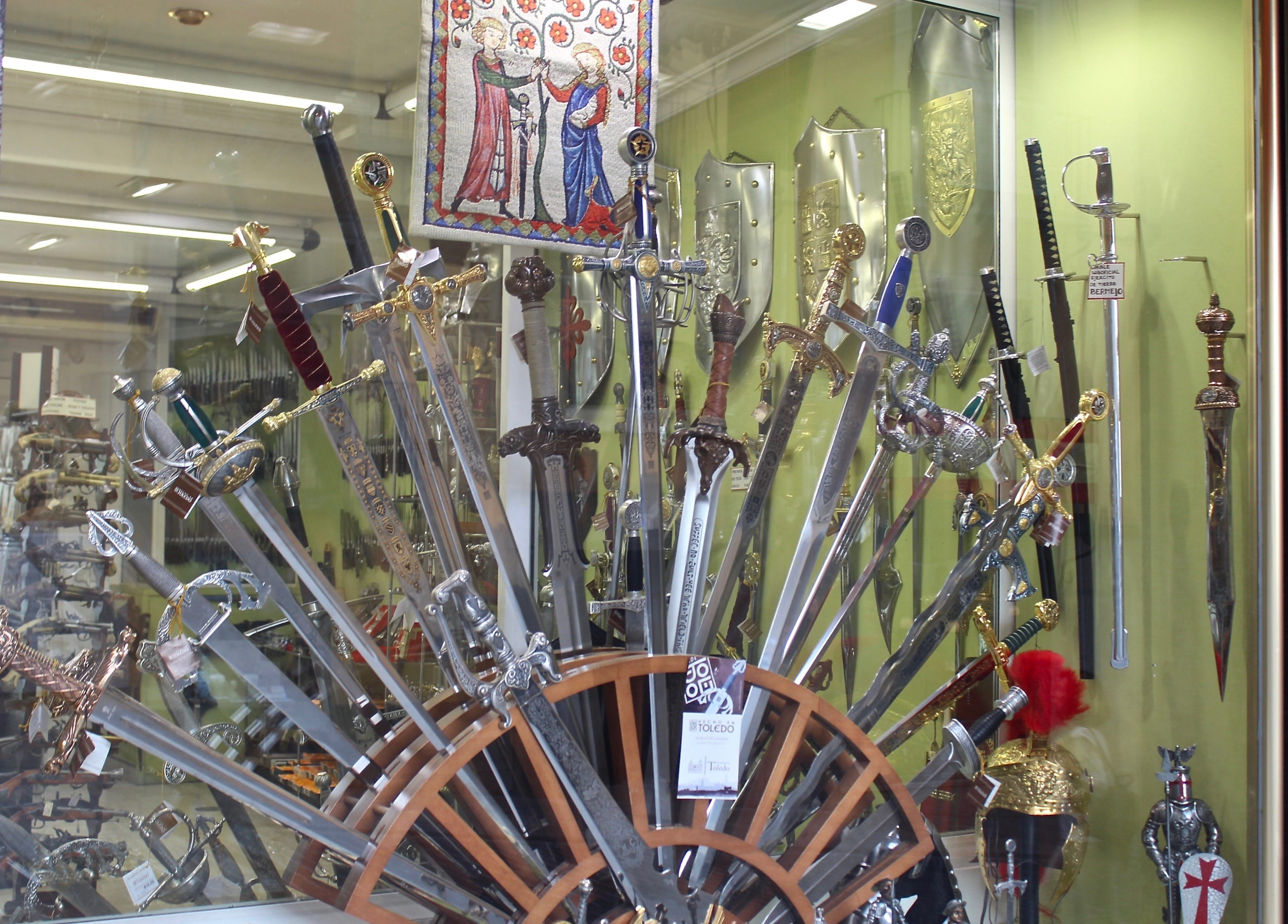 Where to Stay and Shop: Toledo's Weapons of Chivalry