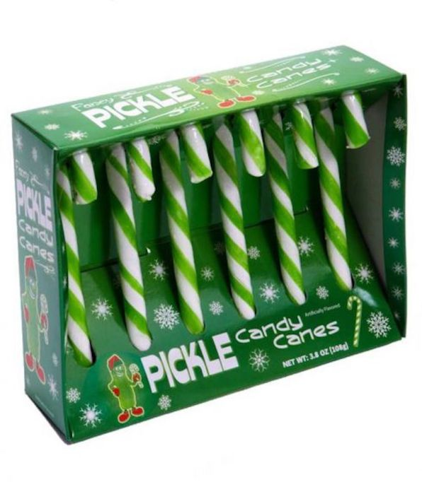 photo of Pickle Candy Canes