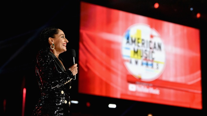 Tracee Ellis Ross speaks onstage at