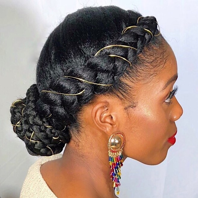 Hair Crown Bun