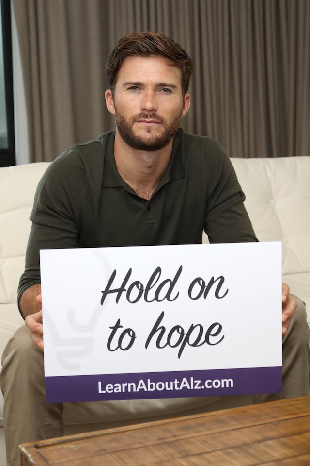 Scott Eastwood for LearnAboutAlz.com