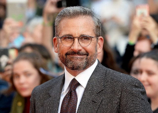 Steve Carell attends the UK Premiere of 'Beautiful Boy' & Headline gala during the 62nd BFI London Film Festival
