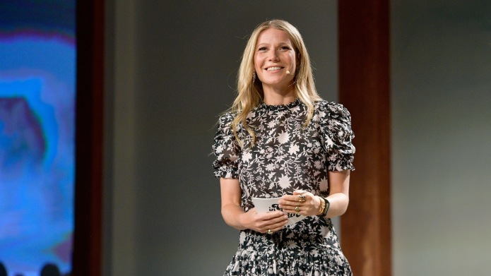 photo of gwyneth paltrow in goop