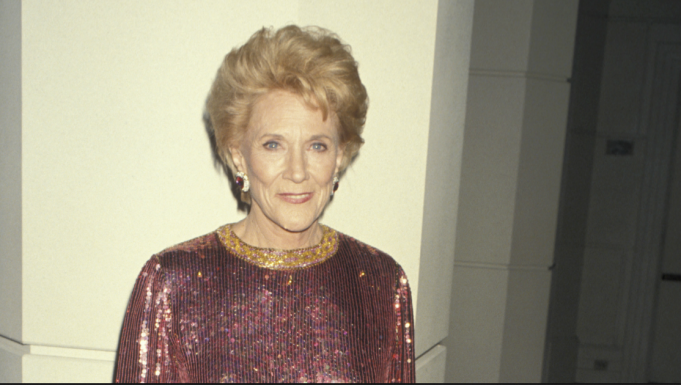 Jeanne Cooper sequined dress