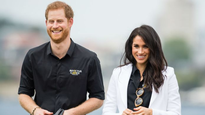 Photo of Prince Harry and Meghan