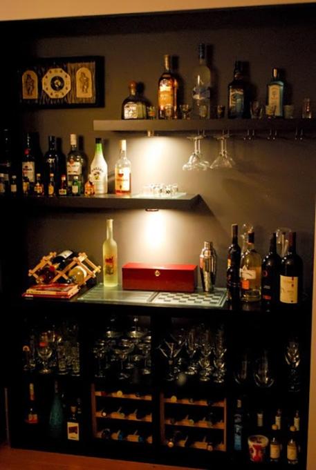 Ikea Hack Bar Closet