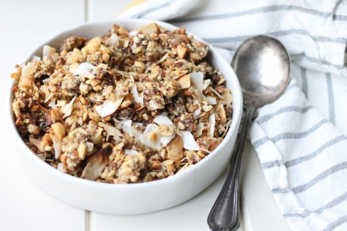 Reishi and Chai Paleo Granola