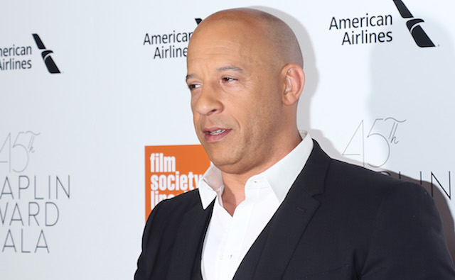 Vin Diesel attends the 45th Chaplin Award Gala honoring Helen Mirren at Alice Tully Hall on April 30, 2018 in New York City. (Photo by Jim Spellman/WireImage)