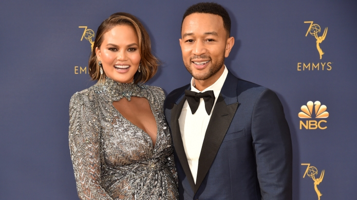 Chrissy Teigen and John Legend attends