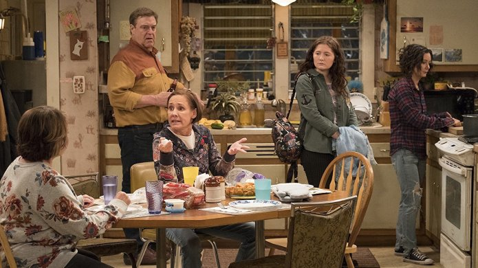 Still from Roseanne Season 10
