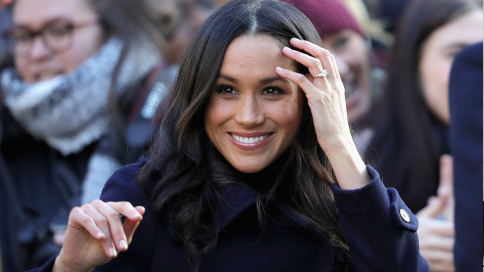 Meghan Markle Is Happy to Be