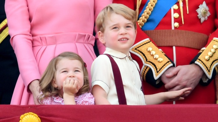 photo of prince george and princess