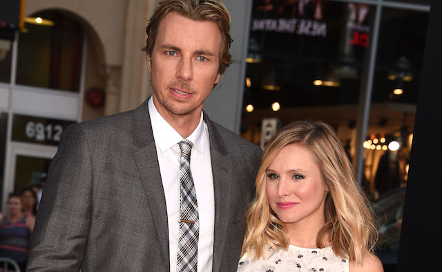Dax Shepard and Kristen Bell arrive at the 'This Is Where I Leave You' - Los Angeles Premiere at TCL Chinese Theatre on September 15, 2014, in Hollywood, California.
