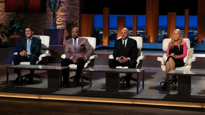 Photo of the Shark Tank judges
