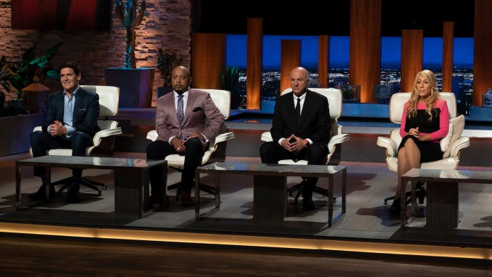 Photo of the Shark Tank judges