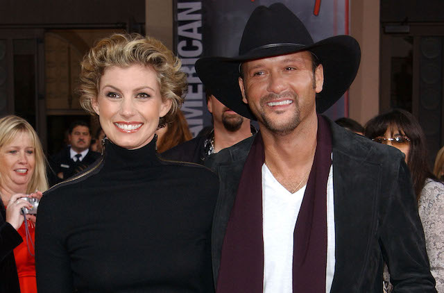 Faith Hill and Tim McGraw during 31st Annual American Music Awards