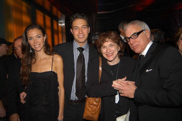 Olivia Chantecaille, Eric Villency, Joyce Wadler and Richard Turley attend(s) Grand Opening Celebration of the Time Warner Center at Time Warner Center