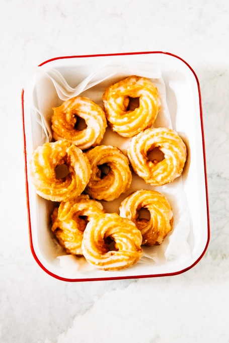 Apple Cider Crullers