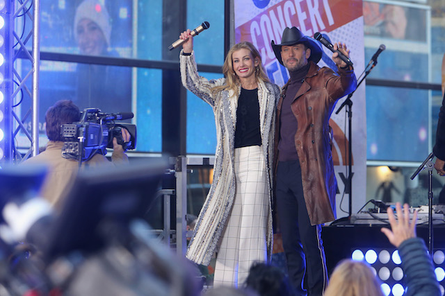 Tim McGraw and Faith Hill perform on NBC's 'Today' Show