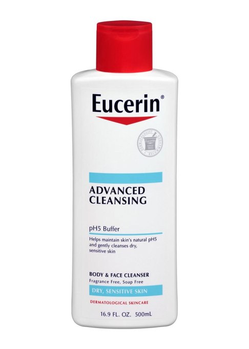 Eucerin Advanced Cleansing Body & Face Cleanser