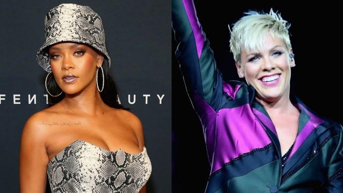 Rihanna, Pink