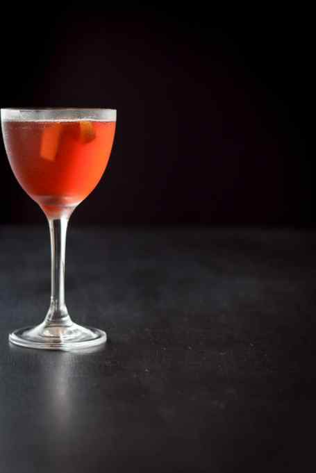 Balanced Boulevardier Cocktail