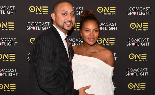 Michael Sterling and Eva Marcille attends 'Behind The Movement' Atlanta screening at National Center for Civil and Human Rights