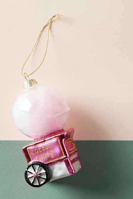 Cotton candy machine ornament