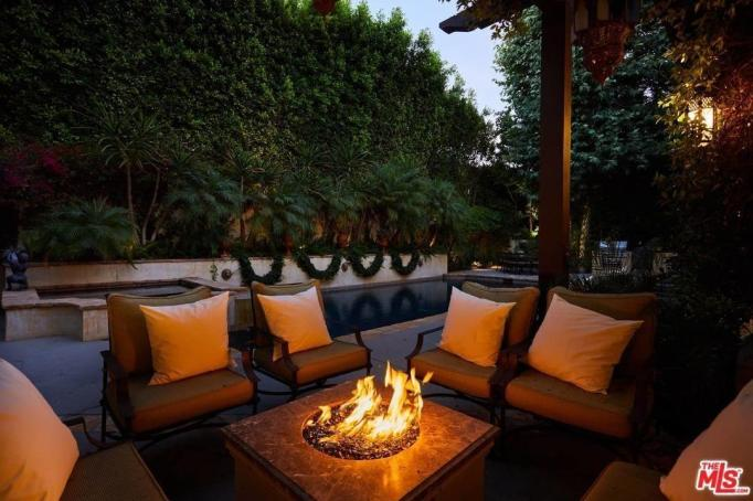 Britney Spears' fire pit