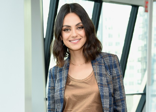 Mila Kunis attends the screening of 'The Spy Who Dumped Me' at Hearst Tower on July 12, 2018, in New York City