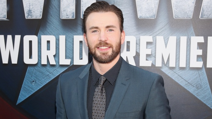 Chris Evans attends the World Premiere