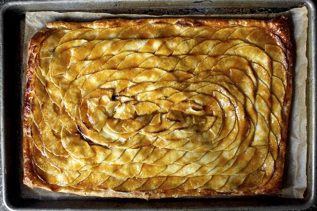 Mosaic Apple Tart