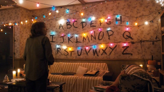Stranger Things living room