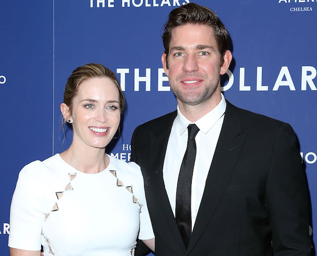Emily Blunt and John Krasinski attend the special presentation of 'The Hollars' on August 18, 2016 in New York City