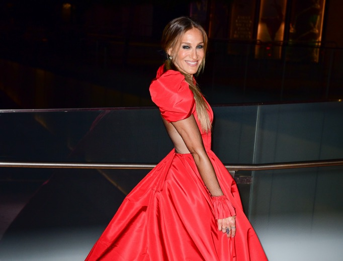 Sarah Jessica Parker arrives at the 2018 New York City Ballet Fall Fashion Gala