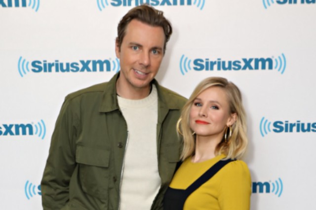 Dax Shepard and Kristen Bell visit the SiriusXM Studios