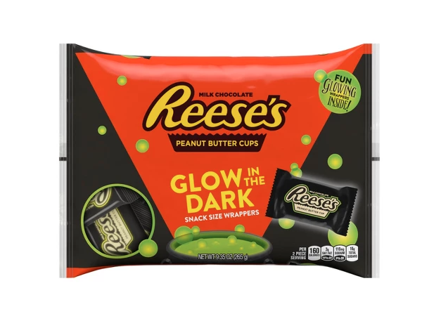 glow in the dark reeses peanut butter cups