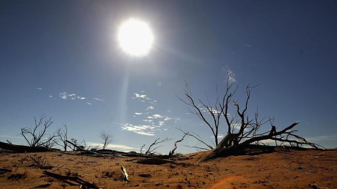 photo of climate change affects on