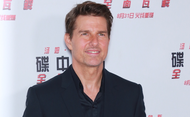 Tom Cruise attends 'Mission: Impossible - Fallout' press conference at the Imperial Ancestral Temple on August 29, 2018 in Beijing, China.